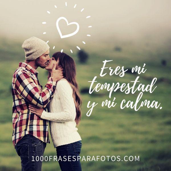 Frases para una foto mía y de mi novio para Instagram amor