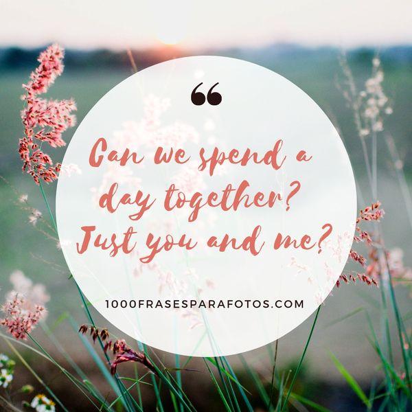 Frases para fotos de amor en inglés para Instagram