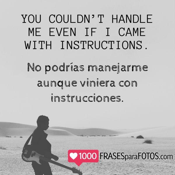 Bellas frases en inglés traducidas al español