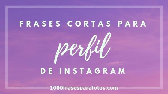 70 Frases Cortas Para Perfil De Instagram Frases Para Fotos