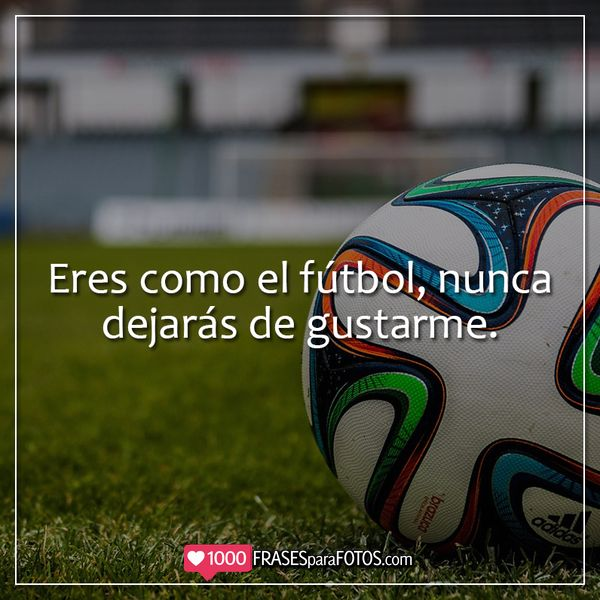 Imágenes con frases de soccer para tus fotos de Instagram Títulos y Captions para fotos de futbolistas